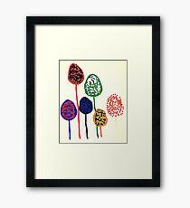 LukesBalloons1 Framed Print