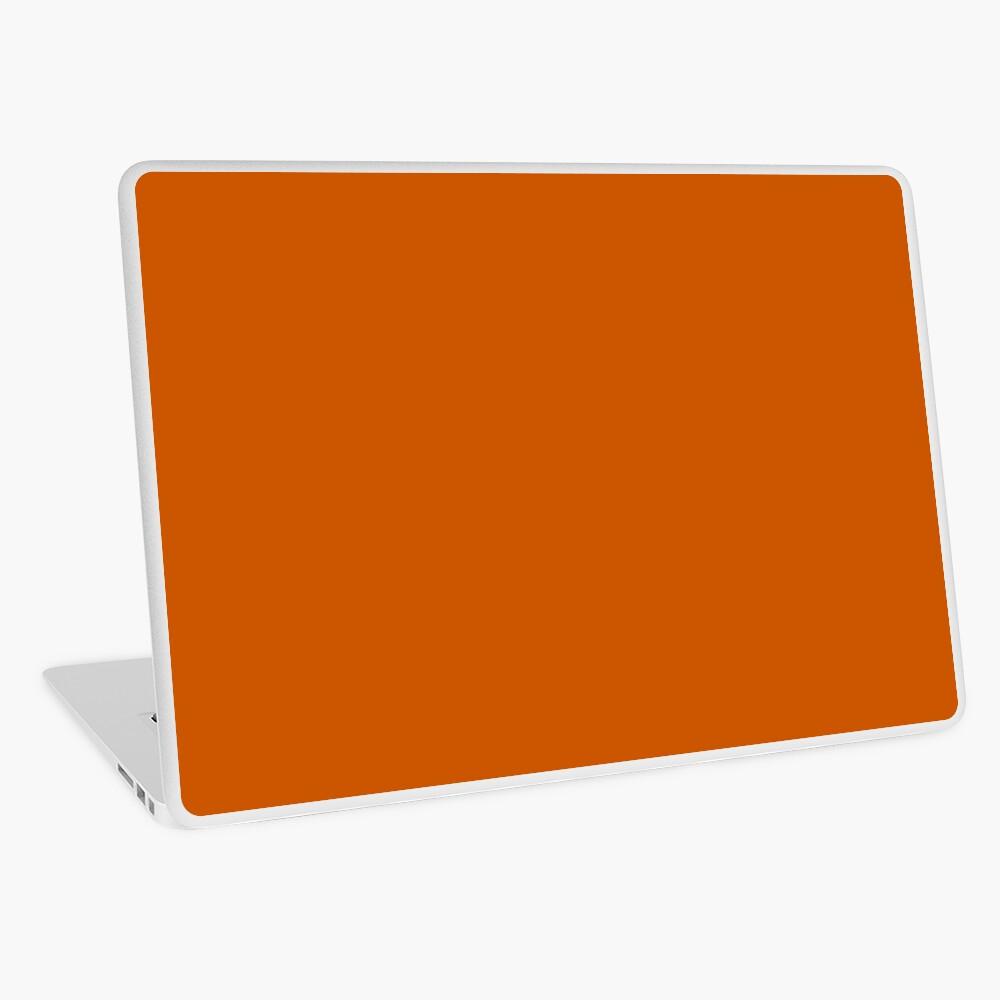 Burnt Orange  Laptop Skin
