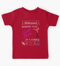 DIrty Dancing Christmas Sweater - Santa Baby Kids Tee