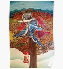 Blue Jays VS Cardinals - Really! Poster