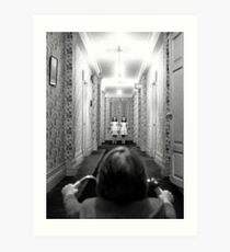 The Shining- Hallway Art Print