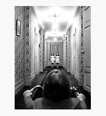 The Shining- Hallway Photographic Print