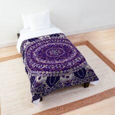 Royal Purple Mandala Comforter