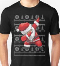 Funny Dabbing Santa Ugly Design Unisex T-Shirt