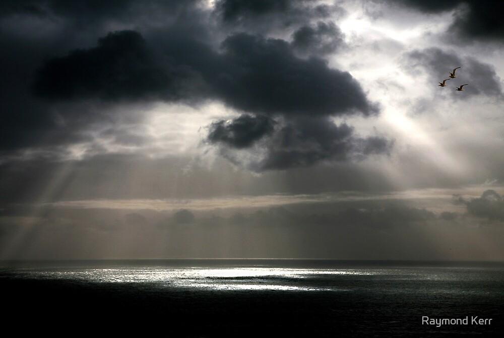 """Stormy Sea"" by Raymond Kerr"