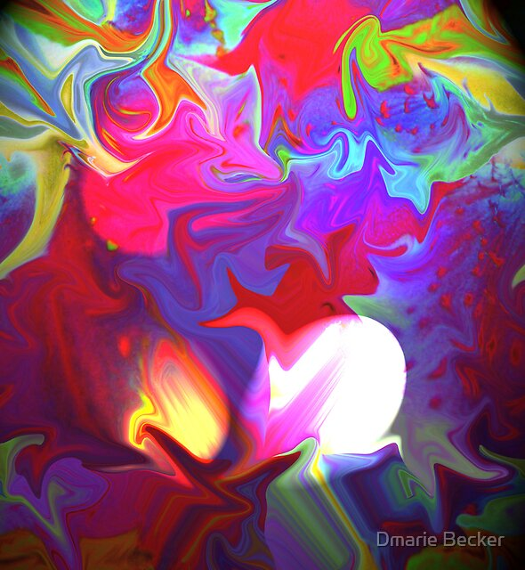 A World of Colour by Dmarie Becker