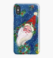 CHRISTMAS NIGHT / SANTA CLAUS WITH TOYS iPhone Case/Skin