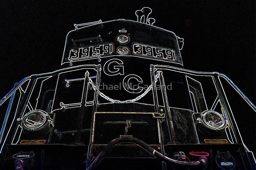 Engine Glow by Michael McCasland