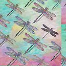 """""""Dragonflys Flying in Close Formation"""" by kcd-designs"""