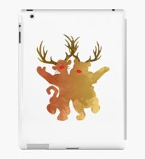 Christmas Friends Inspired Silhouette iPad Case/Skin