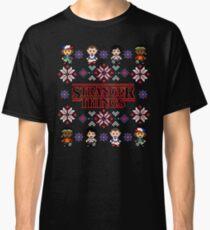 Christmas Sweater Stranger Things Classic T-Shirt