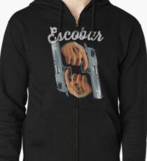 Escobar Guns Tattoo Zipped Hoodie