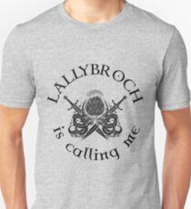 Lallybroch is calling me Unisex T-Shirt