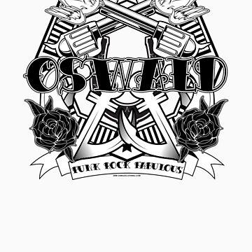 Oswald Tatto Parlor BW by oswaldclothing