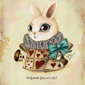The Herald White Rabbit by belizabethg