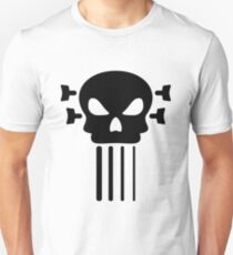Bass guitar and skull T-Shirt