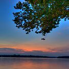Twilight Over Water by L M