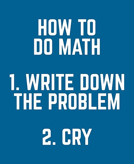 How To Do Math Funny Quote\