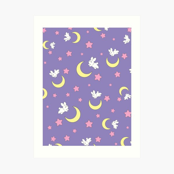 Rabbit of the Moon Art Print