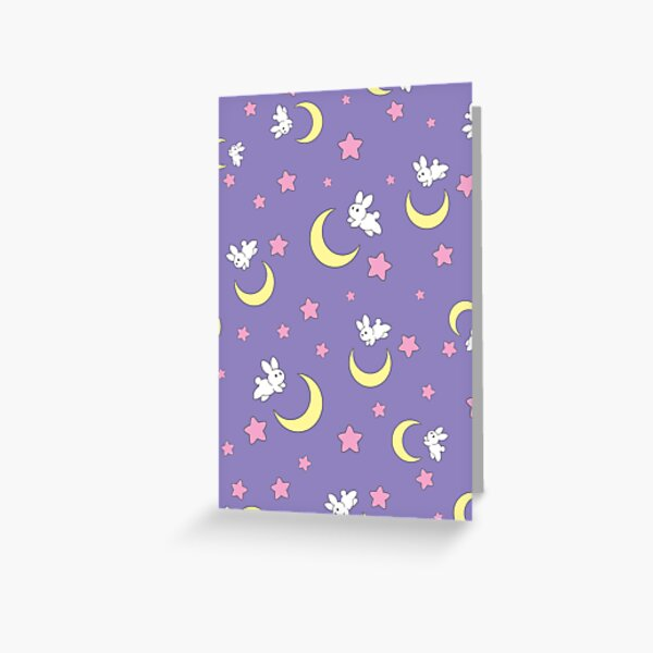 Rabbit of the Moon Greeting Card