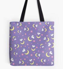 Kaninchen des Mondes Tote Bag