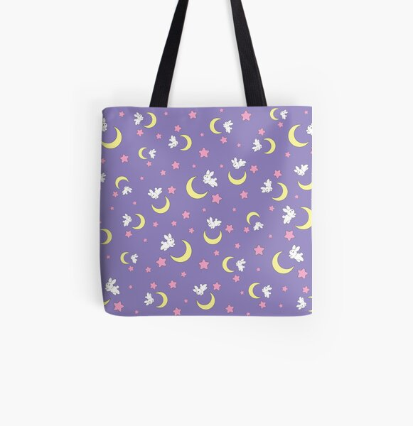 Rabbit of the Moon All Over Print Tote Bag