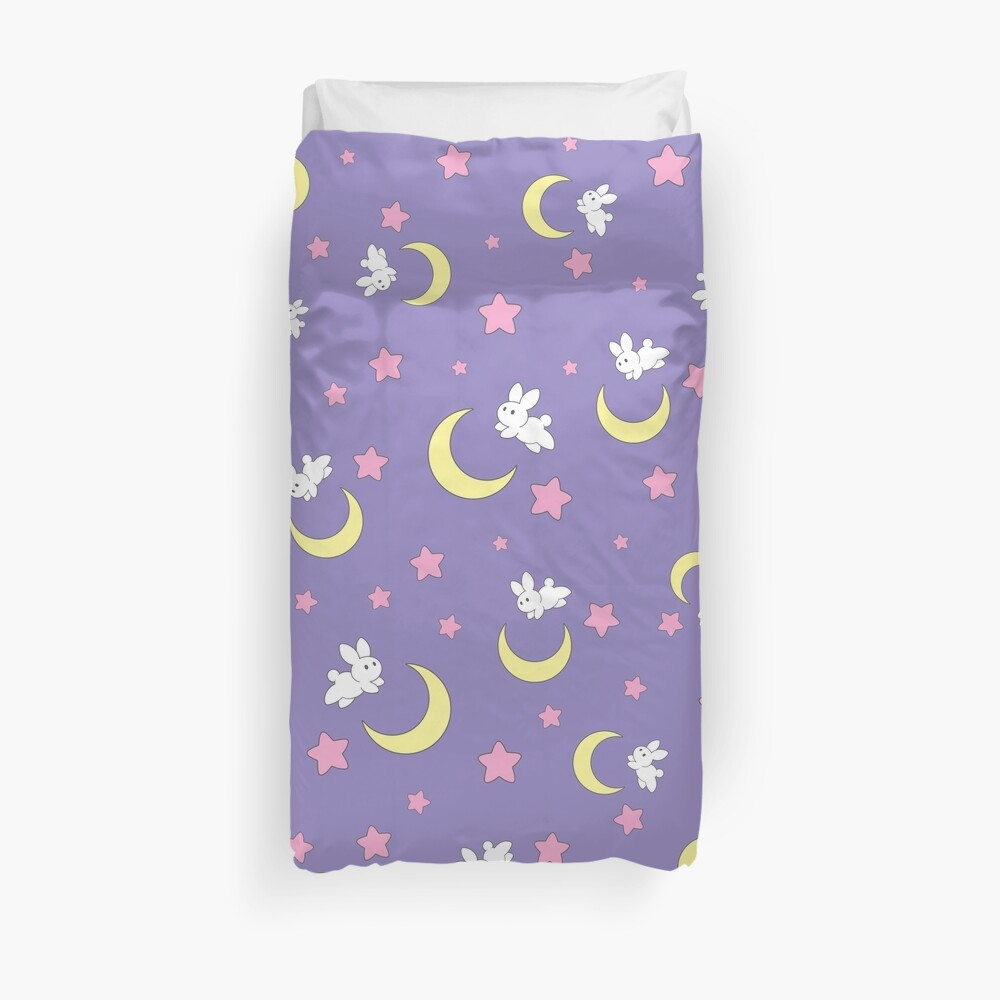 Rabbit of the Moon Duvet Cover