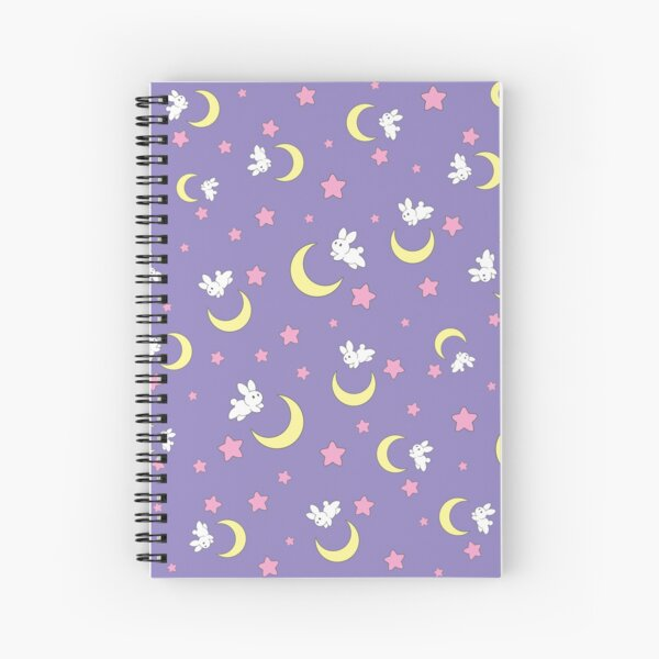 Rabbit of the Moon Spiral Notebook