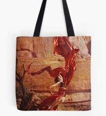 Saturn Ascends Tote Bag