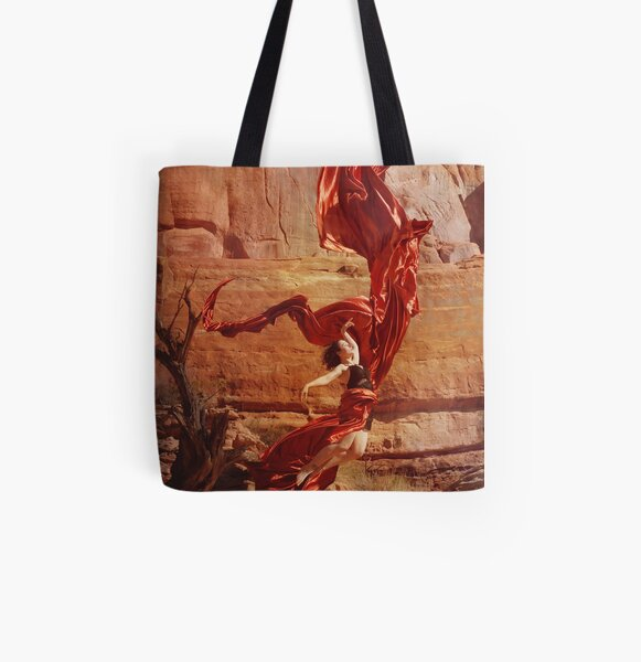 Saturn Ascends All Over Print Tote Bag
