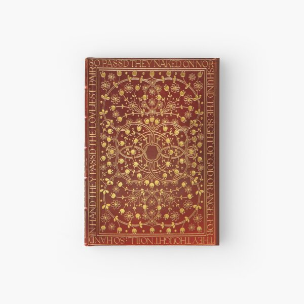 Paradise Lost by John Milton, 1902 red leather book cover Hardcover Journal