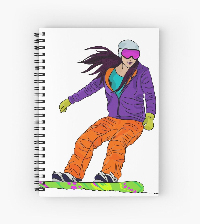 Snowboarder girl by TorriPhoto