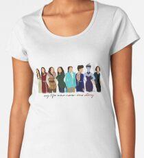 Regina Mills - Hero/Villain Women's Premium T-Shirt