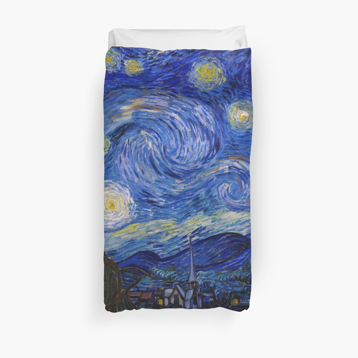 Starry Night - Vincent Van Gogh by NewNomads