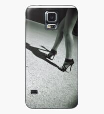 Spirit surreal sexy  legs black and white silver gelatin square analog Pentacon Six photo Case/Skin for Samsung Galaxy