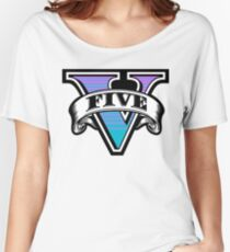 GTA 5 Women's Relaxed Fit T-Shirt