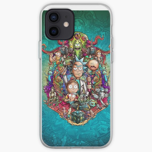 Buckle Up Morty! iPhone Soft Case