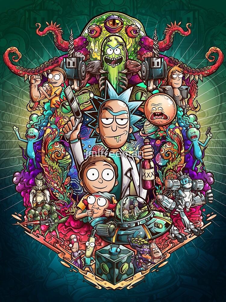 Buckle Up Morty! by jmlfreeman