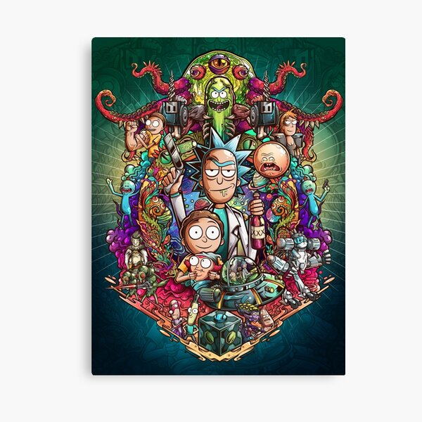 Buckle Up Morty! Canvas Print