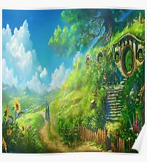 ANIME STUDIO GHIBLI THE LORD OF THE RINGS Poster