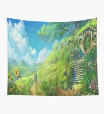 ANIME STUDIO GHIBLI THE LORD OF THE RINGS Wall Tapestry