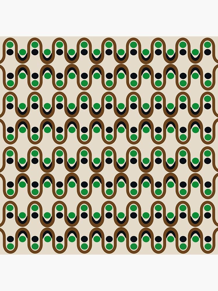 Steve Dots Peas  by caligrafica
