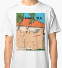 A Good View - St Martin Scene Classic T-Shirt