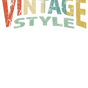 Distressed Vintage Style Since 1978 by RougarGifts