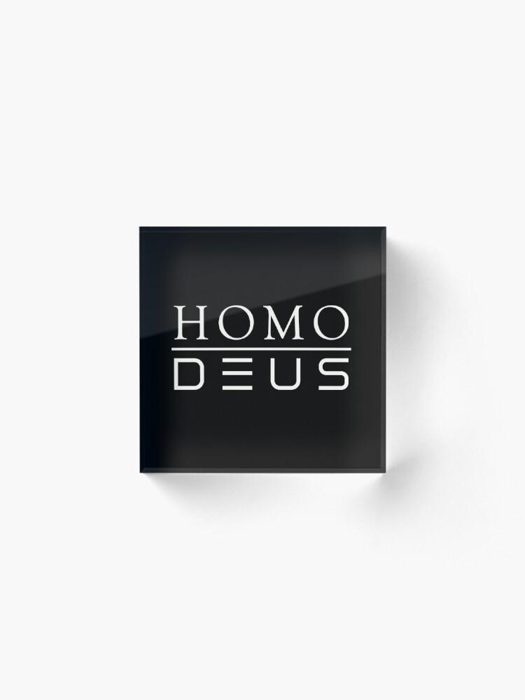 Alternate view of Homo Deus Acrylic Block