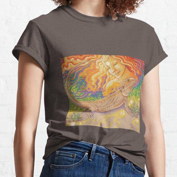 The Sun And The Dragon, Bearded Dragon Art Classic T-Shirt