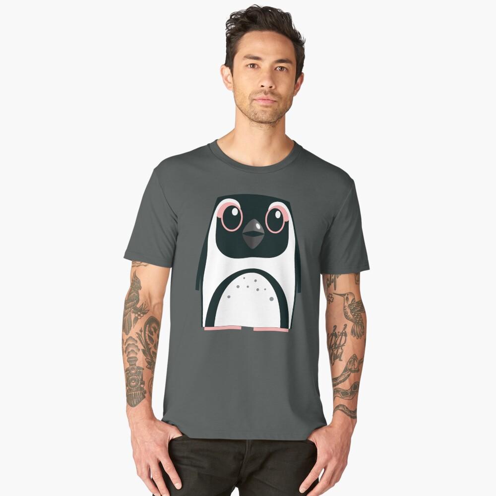 African Penguin - 50% of profits to charity Men's Premium T-Shirt Front