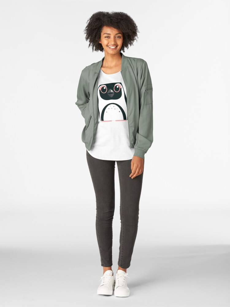 Alternate view of African Penguin - 50% of profits to charity Premium Scoop T-Shirt