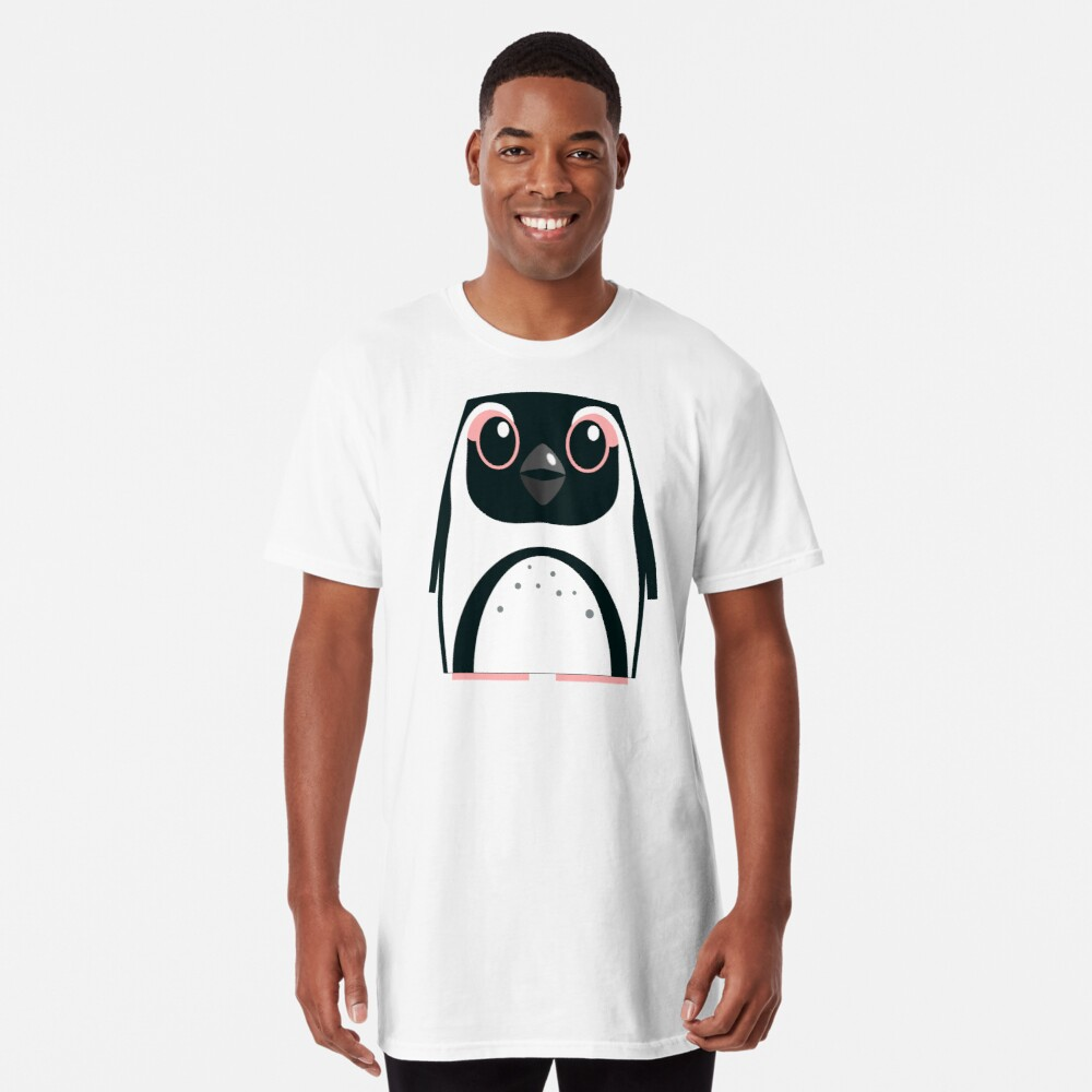 African Penguin - 50% of profits to charity Long T-Shirt