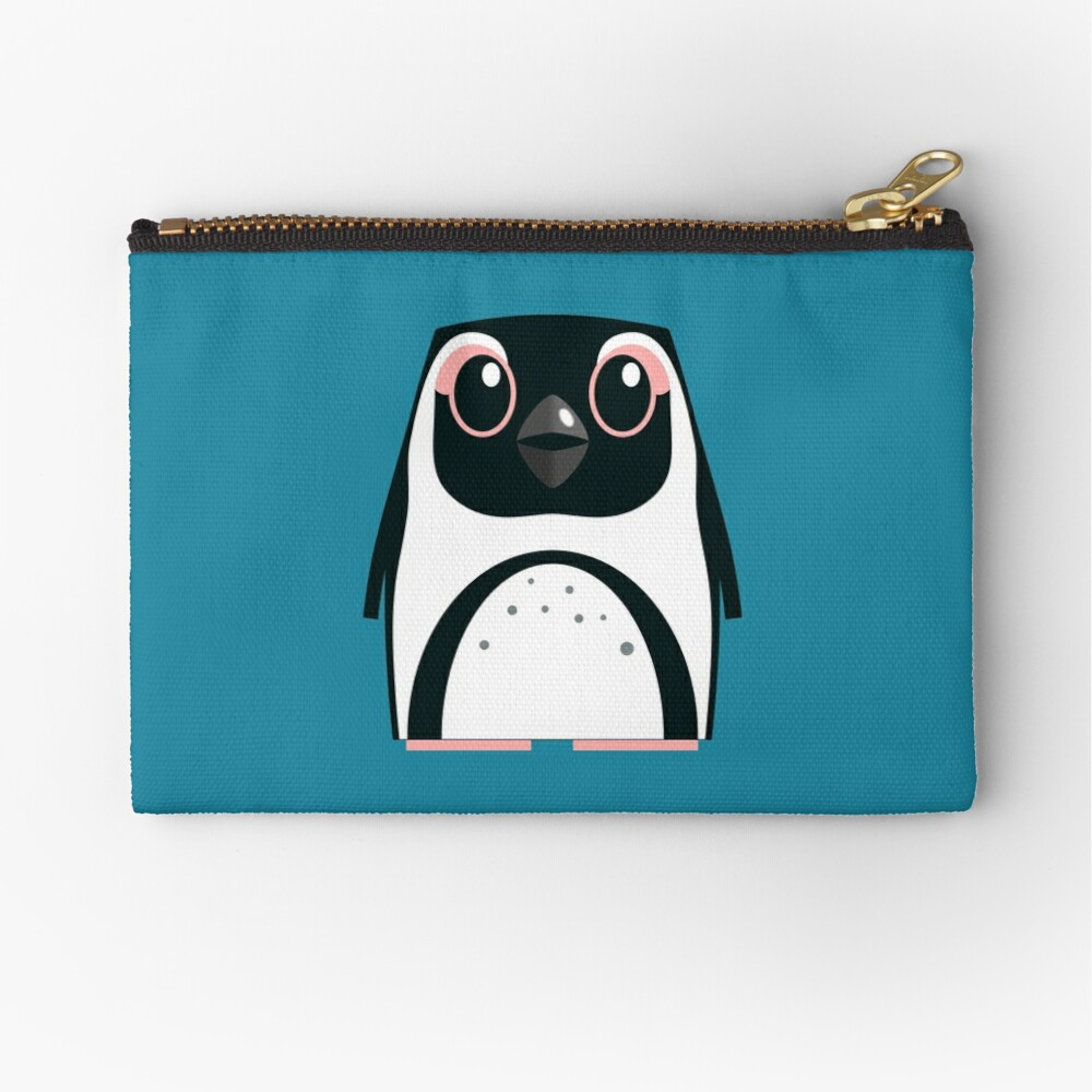 African Penguin - 50% of profits to charity Zipper Pouch
